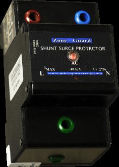 Surge Protector - 40kA x 2P - Din Rail