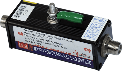 Coaxial line surge protector <br> (F Type)